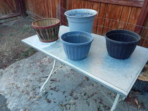 Flowers pots and garden stuff for Sale in Wheat Ridge, CO