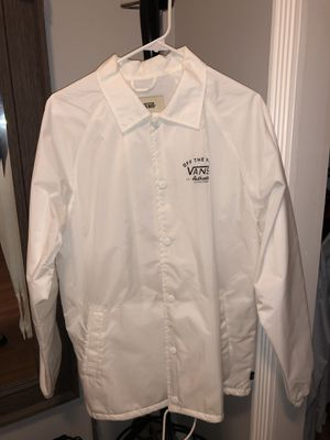 vans jacket, very good condition, new basically for Sale in Annandale, VA