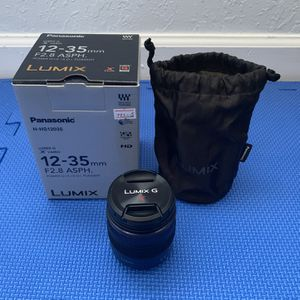 Lumix G X Vario 12-35mm F2.8 ASPH Panasonic Lens for Sale in Hollywood, FL