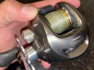 Shimano Curado 200 HDSV fishing reel like new excellent condition for Sale in Shingle Springs, CA