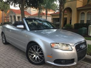2009 Audi A4 2.0T S Line Turbo Convertible Cold Air Runs EXCELLENT for Sale in Davenport, FL