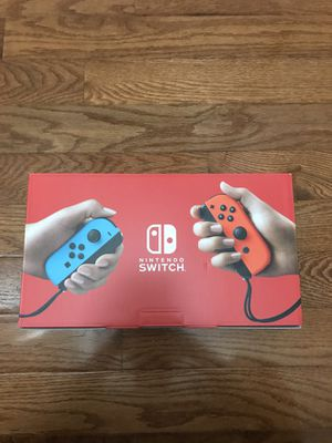 Nintendo switch neon (red and blue) for Sale in Annandale, VA