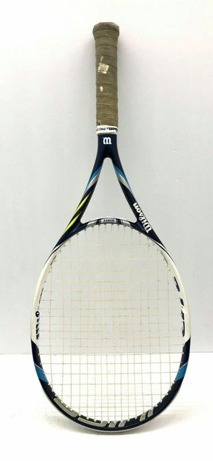 Wilson Juice 100L 4 3/8 grip tennis racket with over grip. Price slightly negotiable for Sale in Chicago, IL