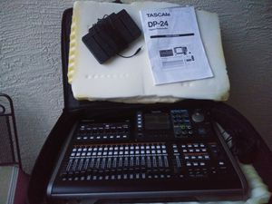 Tascam DP24sd digital multitrack recorder for Sale in Land O' Lakes, FL