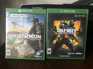 Xbox one video games for Sale in Murrieta, CA