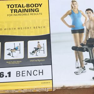 Bench Press Lightly Used for Sale in Miami, FL
