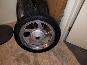 "1995 Honda VF750 Magna 17"" front Wheel & Tire for Sale in Mesa, AZ"
