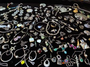 Huge 3.68lbs Lot of 925 Sterling Silver Scrap and Wearable Metal for Jewelry, Melt, Resale for Sale in Oakland, CA