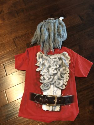 Santa large shirt & beard for Sale in Temecula, CA