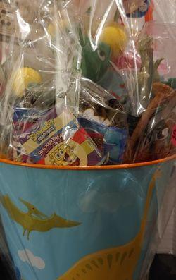 Dinosaur basket for Sale in Sumter,  SC