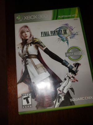 GAME XBOX LIVE 360 FINAL FANTASY XIII PLATINUM HITS for Sale in Chambersburg, PA