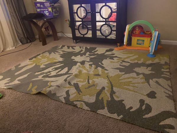 Grey And Lime Green Area Rug For Sale In Fayetteville Nc