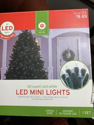 New LED lights 2 boxes $10 for Sale in Leavenworth, WA