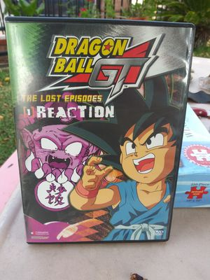 dragon ball gt dvd for Sale in Los Angeles, CA