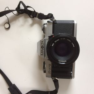 Minolta 35 mm camera X370 with 50mm lens for Sale in Mount Oliver, PA