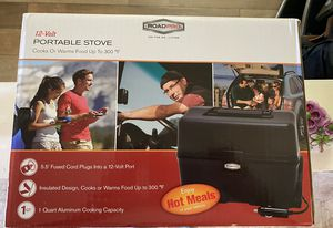 12 Volt Portable Stove New for Sale in Pearblossom, CA