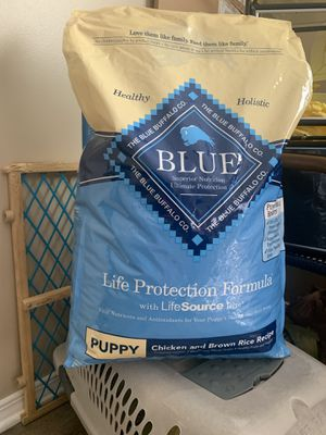 Brand new unopened Blue buffalo puppy food for Sale in Raleigh, NC