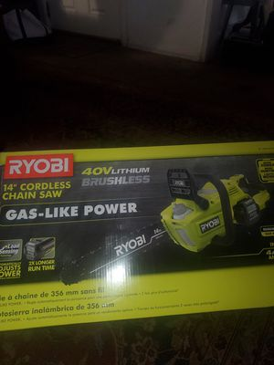 Ryobi 40V Chainsaw for Sale in Phillips Ranch, CA