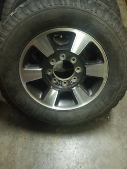 Ford Super Duty wheels With Tires for Sale in East Wenatchee,  WA