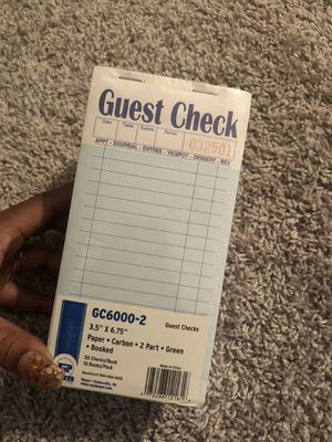 Guest check for Sale in Fort Myers, FL