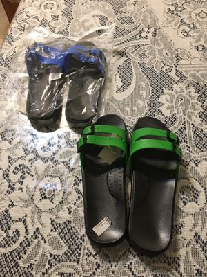 $7.00 for one pair. Very comfortable sandals ( brand new) . for Sale in Fresno, CA