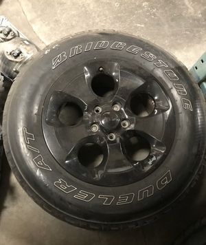 For Jeep Wrangler 13-18 OEM Rim And Wheel for Sale in Pomona, CA