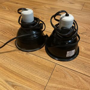 Two Reptile Heat Lamps (75W) for Sale in Berkeley, CA