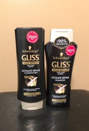Schwarzkopf Gliss shampoo and conditioner for Sale in Hamburg, NY