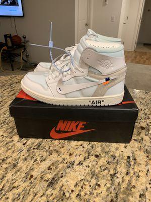 Nike Jordan 1 X Off White size 10 for Sale in Santa Ana, CA