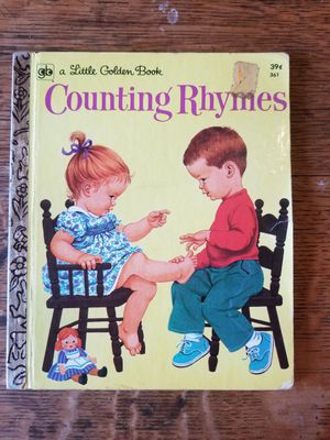 """1960 Little Golden Book #361 """"Counting Rhymes"""" 6th Printing for Sale in Lexington, SC"""