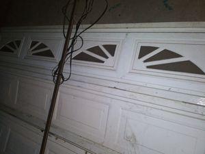 Complete garage door with electric opener for Sale in Fresno, CA