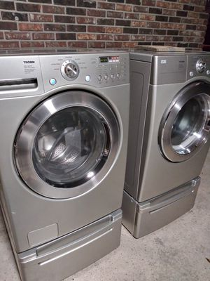 Lg tromm washer and dryer for Sale in Covington, GA