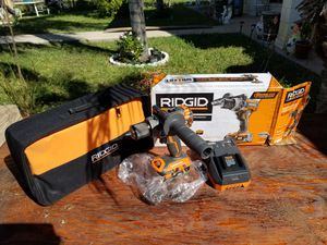 Ridgid 18v brushless drill for Sale in McAllen, TX
