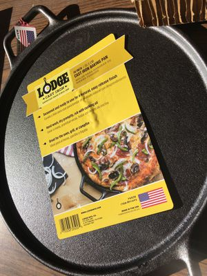 Lodge Cast Iron Baking Pan for Sale in San Jose, CA