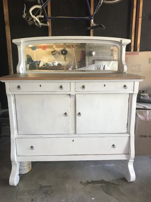 Antique refurbished buffet cabinet for Sale in Westminster, CO