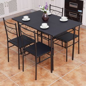 5 dining set 4 chairs and table new box Free Delivery for Sale in Norcross, GA