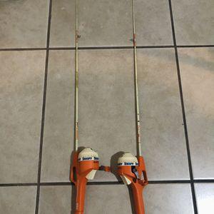 Vintage (1982) SNOOPY Zebco Brunswick Rod & Reel Fishing Pole for Sale in Las Vegas, NV