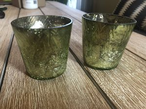 Faux mercury glass candle holders for Sale in Columbus, OH