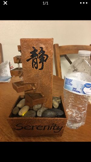 Dads gift, yes even Dad needs a serenity desk fountain!! for Sale in Las Vegas, NV