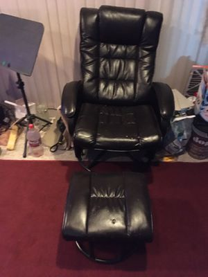 Lounge chair with ottoman for Sale in Midlothian, VA