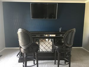 Granite top bar and matching bar stools for Sale in Washington, DC