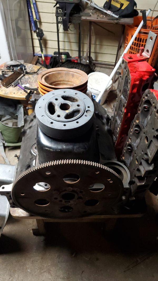 Sbc 350 engine 2bolt main cast # 14010209