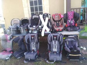 Car seat from 15 to 80 for Sale in Dallas, TX