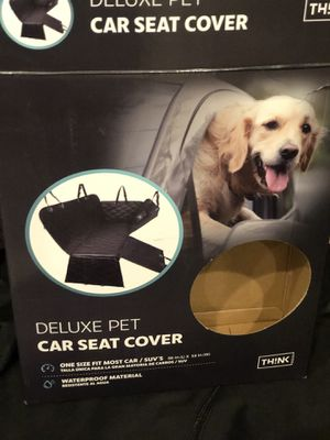 DELUXE PET CAR SEAT COVER! BRAND NEW! for Sale in Everett, WA