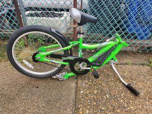 WeeRide Kids Co Pilot Tagalong Trailer Bike - Fluoro Green, 20 Inch by Wee-Rid for Sale in Philadelphia, PA