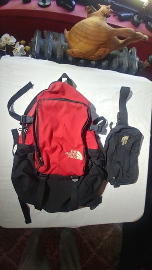 North Face backpack .. north face fanny pack for Sale in Boston, MA