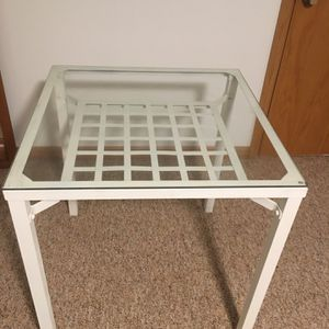 Glass Top Table for Sale in Bellevue, WA