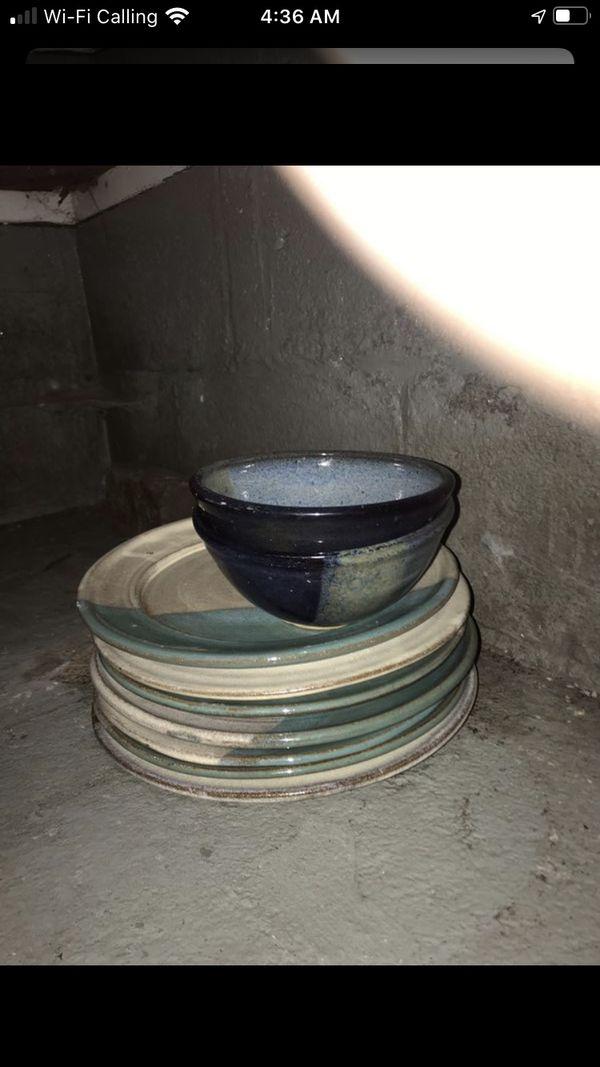 Handmade Plates and bowls