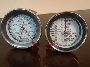 2 different Taylor USA cooking thermometers (Roast Meat, Candy-Deep Fry) for Sale in Rockville, MD