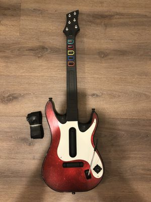 Guitar Hero Ps2 Ps3 Controller No Dongle 95893.805 W Strap for Sale in Artesia, CA